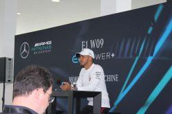 Mercedes W09 Launch