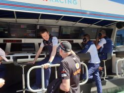 Rob Smedley on the Williams pit wall - pic by Josh Stuart