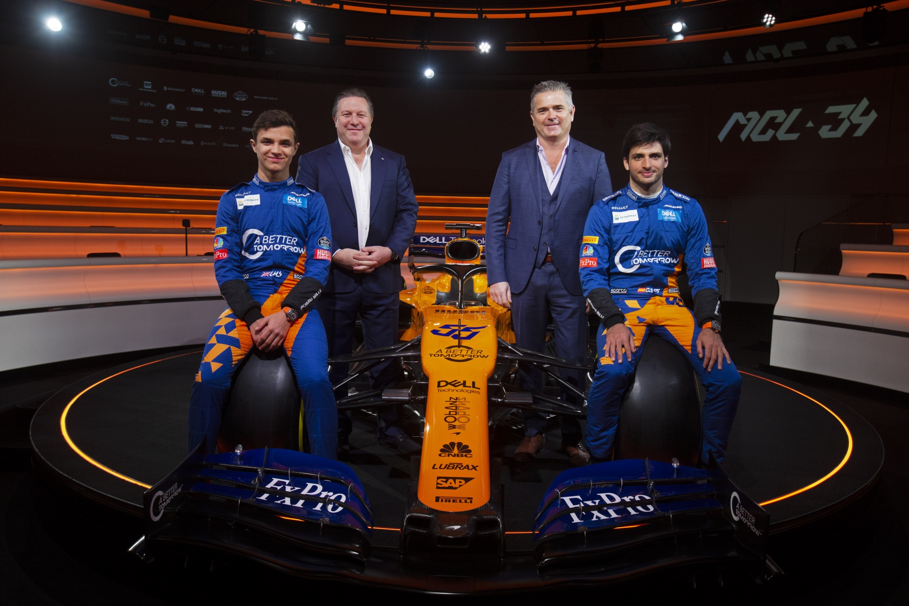 McLaren2019Drivers_Management_Launch