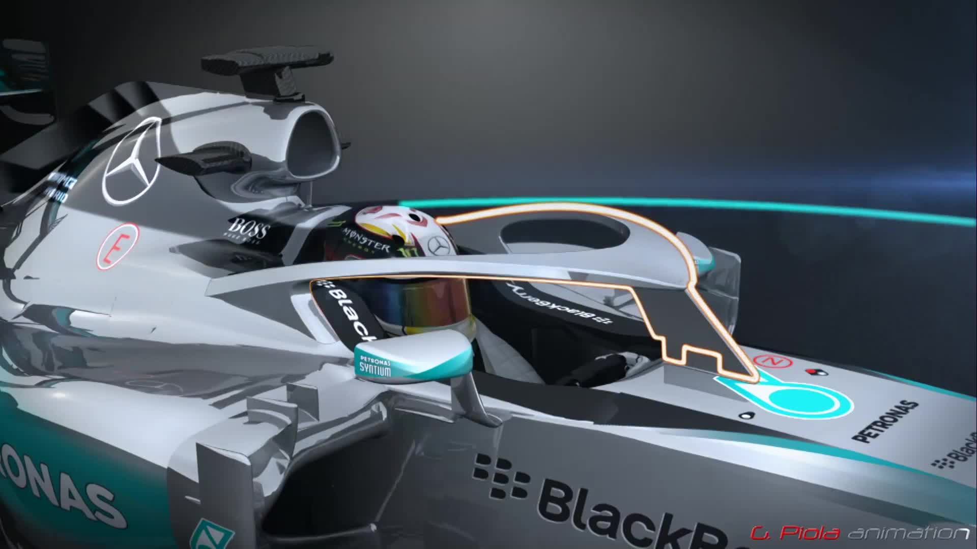 Halo Concept For F1 Driver Head Protection