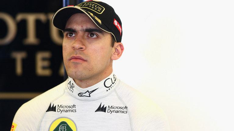 Ex? F1 driver Pastor Manldonado