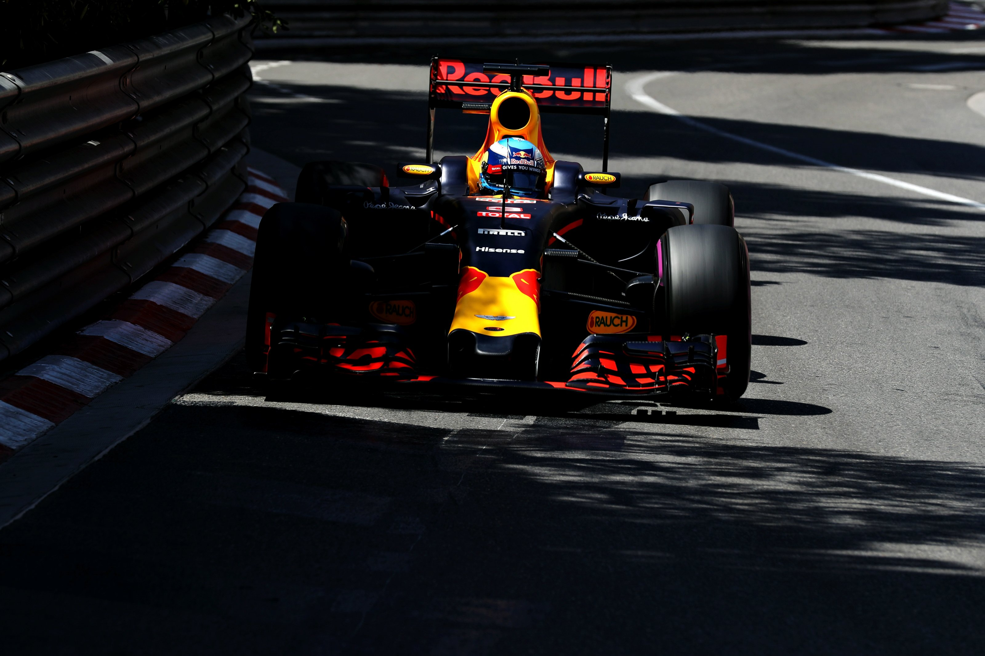 Daniel Ricciardo at the 2016 Monaco Grand Prix