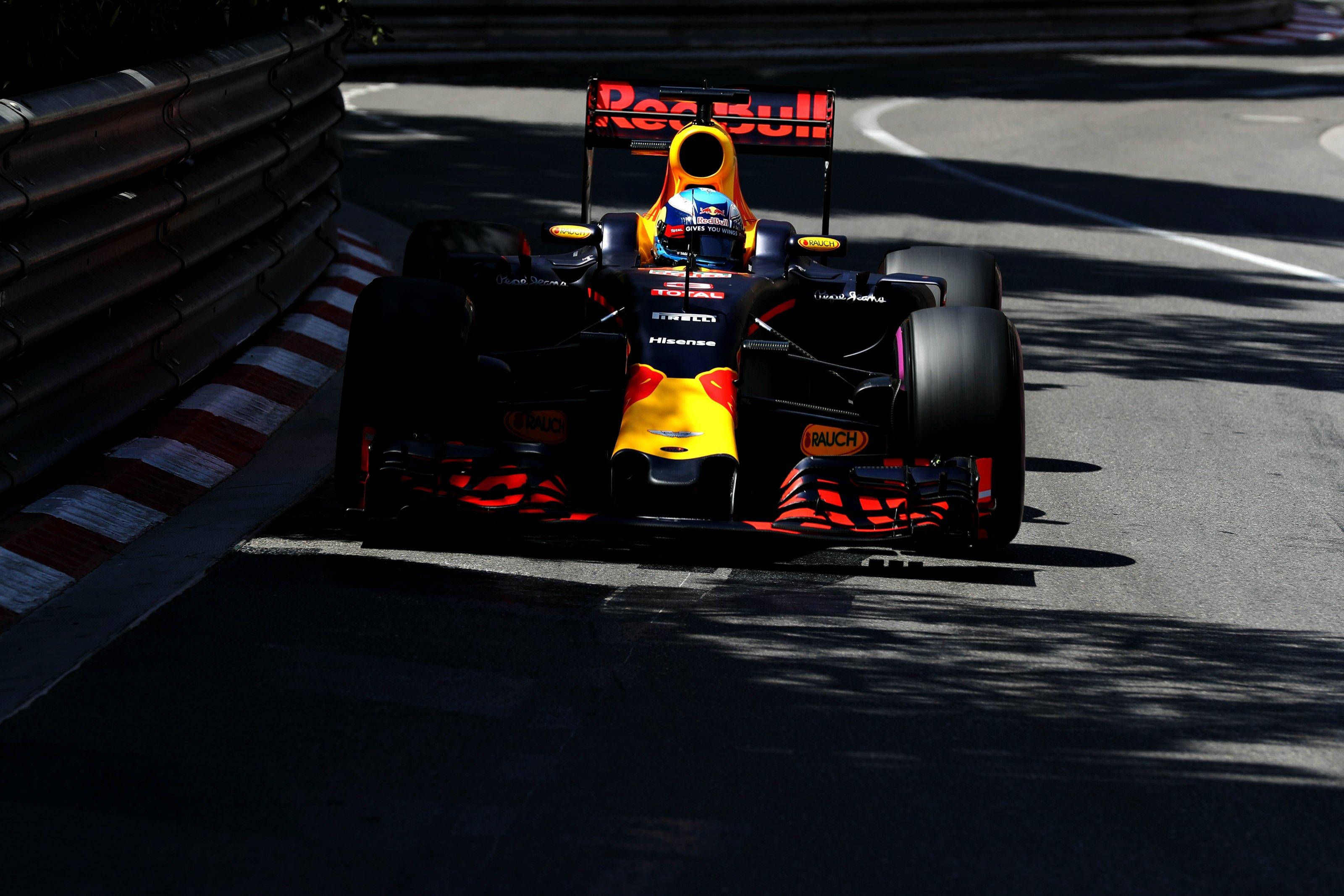 Daniel Ricciardo at the 2016 Monaco Grand Prix