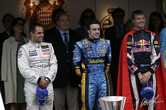 Monaco 2006 Podium