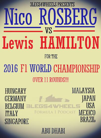 Rosberg v Hamilton