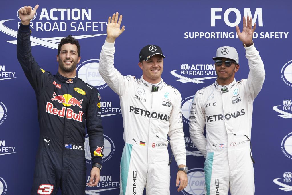 2016 German Grand Prix Qualifying