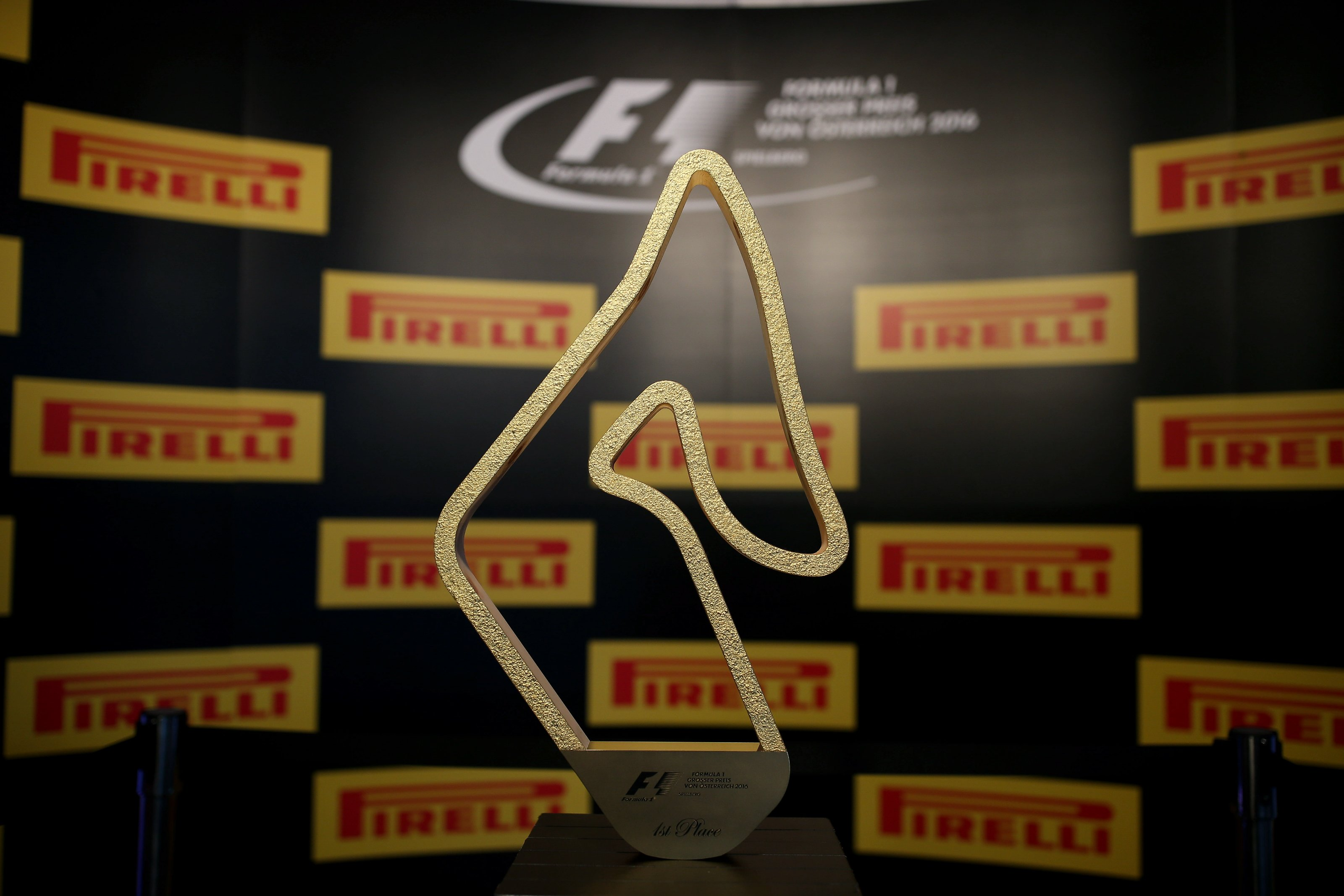 The 2016 Austrian Grand Prix Trophy