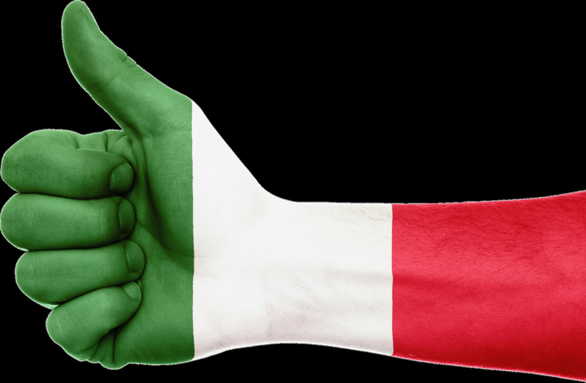 We all feel a little Italian