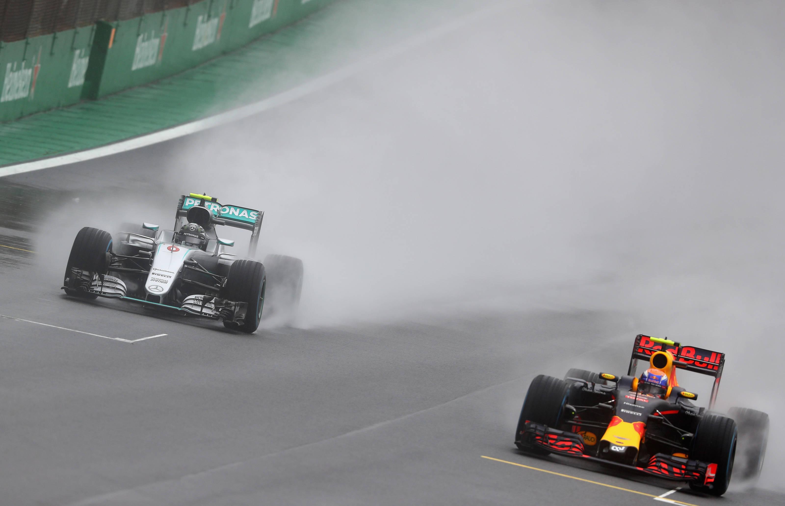 Max Verstappen at Interlagos