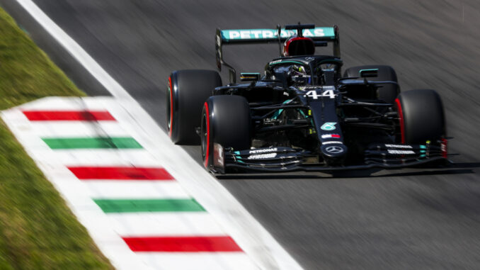 Fastest ever F1 lap gives Hamilton pole position in Monza ...