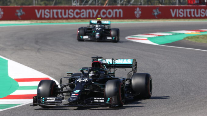 Hamilton Wins Incident Packed Tuscan Gp First Podium For Albon 3legs4wheels