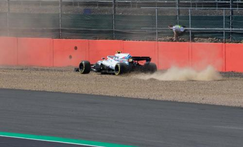 A Williams in the gravel - Pic by Ryan Kenna