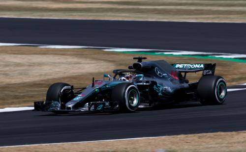 Lewis Hamilton at Luffield - Pic by Ryan Kenna