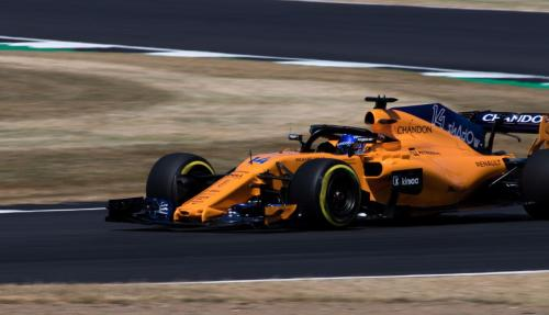 A close up of the MCL33 - Pic by Ryan Kenna