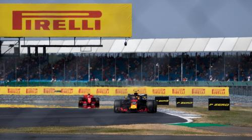 Max leads Kimi down the straight - Pic by Ryan Kenna