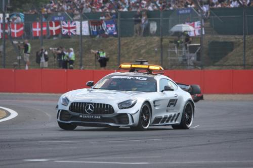 The Safety Car - Pic By Pete Bull